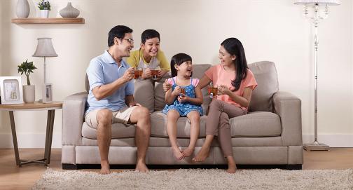 Keluarga dan Teh Sariwangi: Keharmonisan Orang Tua dan Anak