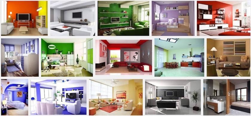Pilihan Warna Interior Yang Sesuai Dengan Kepribadian