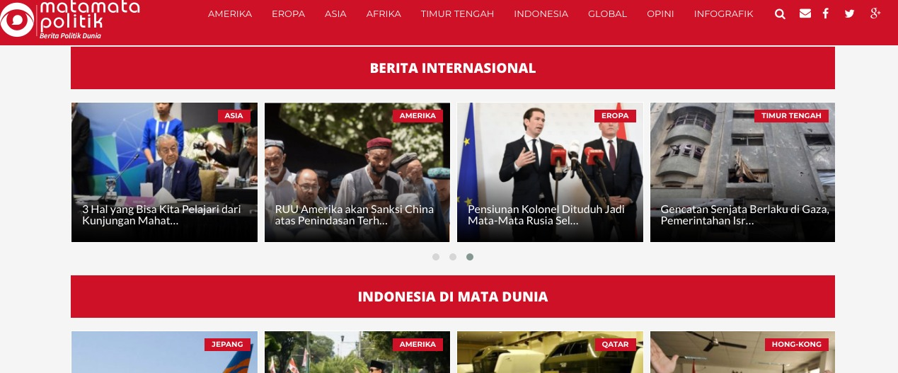 Image result for Berita Internasional Terbaru Media Online